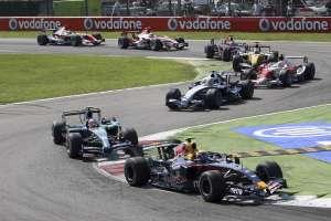 Mark Webber Red Bull RB3 Italian GP F1 2007 Foto Red Bull