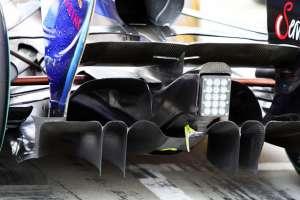 Red Bull RB6 diffuser Foto Sutton