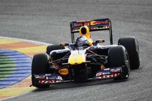 Sebastian Vettel Red Bull RB7 Valencia preseason test F1 2011 Foto Red Bull