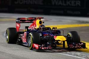 Sebastian Vettel Red Bull RB8 Renault Singapore GP F1 2012 Foto Red Bull