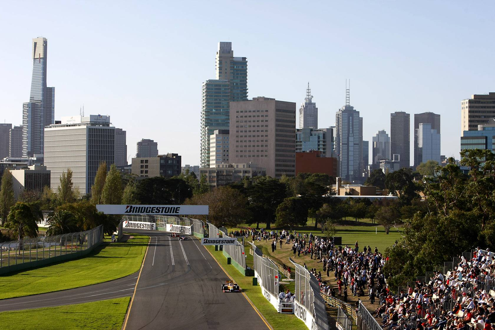 how to get to albert park