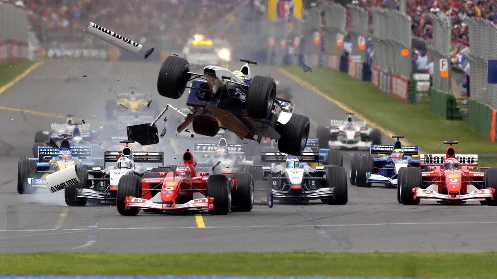 australia f1 2002. start melbourne