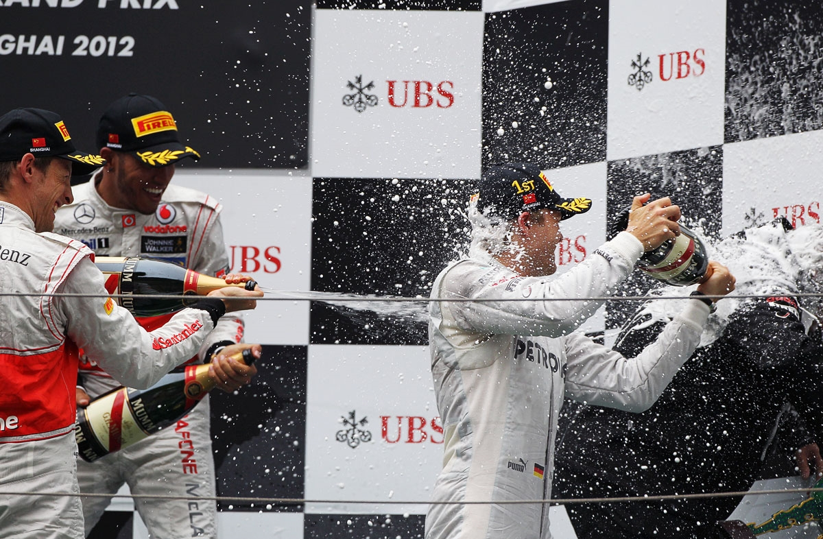 roberg hamilton button chinese gp 2012 podium