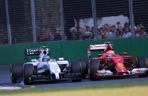 Različite interpretacije nosa za 2014. na Williamsu i Ferrariju. Foto: Ferrari