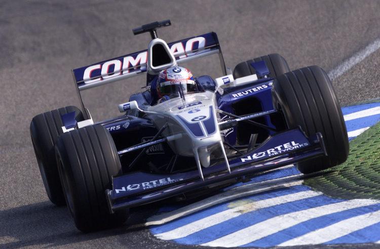 Juan Pablo Montoya BMW WIlliams FW23 German GP F1 2001 Foto Williams