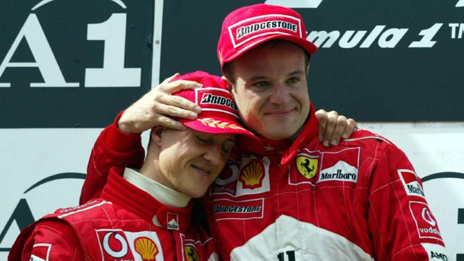 michael schumacher rubens barrichello austrian gp f1 2002 podium
