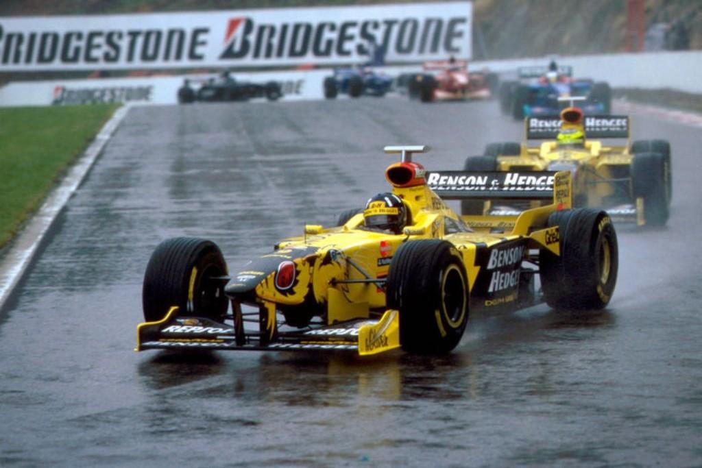 Damon Hill Ralf Schumacher Jordan Belgian GP F1 1998 (30.8.1998.)