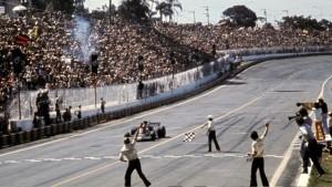 Emerson Fittipaldi u Lotus Fordu pobjednik je prve VN Brazila održane u sklopu Svjetskog prvenstva Formule 1. (11.2.1973.) Foto: f1.com