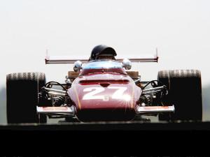 Jacky Ickx u Ferrariju na svojoj domaćoj utrci Belgiji. Ickx je prvenstvo završio na drugom mjestu s tri pobjede od kojih je dvije ostvario nakon što je u Monzi poginuo Jochen Rindt, jedini posthumno proglašeni svjetski prvak u povijesti Formule 1. (7.6.1970.) Foto: Ferrari