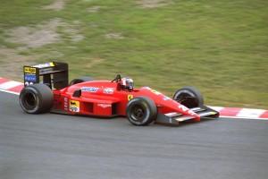 Gerhard Berger pobjedio je 1987. na prvoj VN Japana održanoj na Suzuki. Ujedno je to bila prva Ferrarijeva pobjeda još od 1985. (1.11.1987.) Foto: f1history