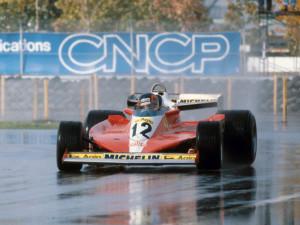 Gilles Villeneuve ostvario je svoju prvu pobjedu u karijeri 1978. upravo na domaćoj utrci na otoku Île Notre-Dame. Bila je to ujedno i prva održana utrka na ovoj stazi. (8.10.1978.) Foto: F1-site.com