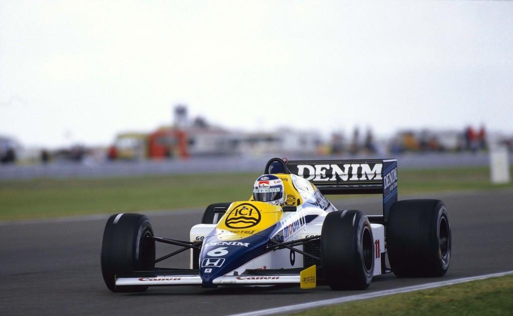 Keke Rosberg na Silverstoneu 1985. gdje je u kvalifikacijama odvozio tada najbrži krug u povijesti Formule 1, prosječnom brzinom od 259.005 km/h. (20.7.1985.) Foto: Williams