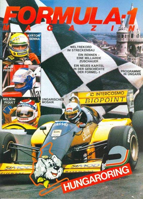 Formula 1 Magazin Hungarian GP 1986