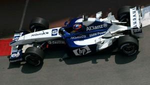 Juan Pablo Montoya ostvario je prvu pobjedu u sezoni u Monaku i najavio Williamsov (nažalost neuspješan) pohod na naslov prvaka. (1.6.2003.) Foto: proyectof1
