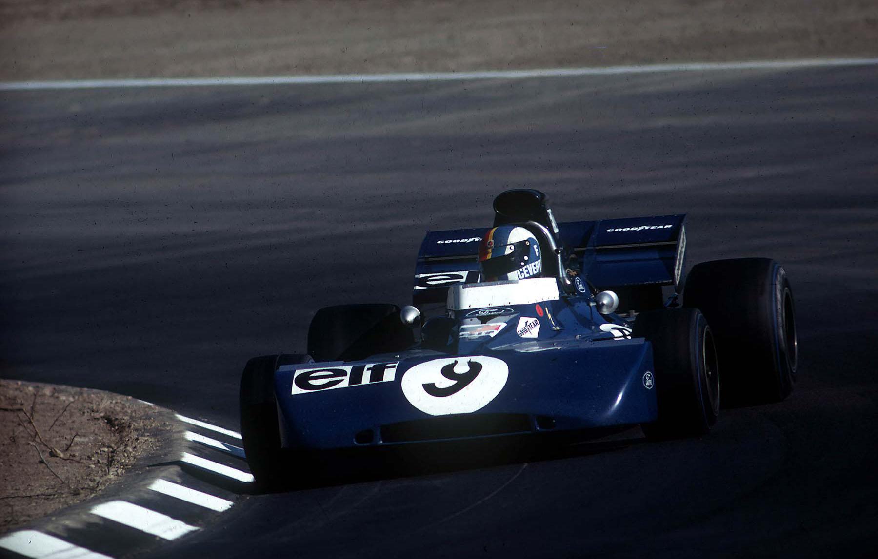 Francois Cevert Tyrrell watkins glen usa gp f1 1971