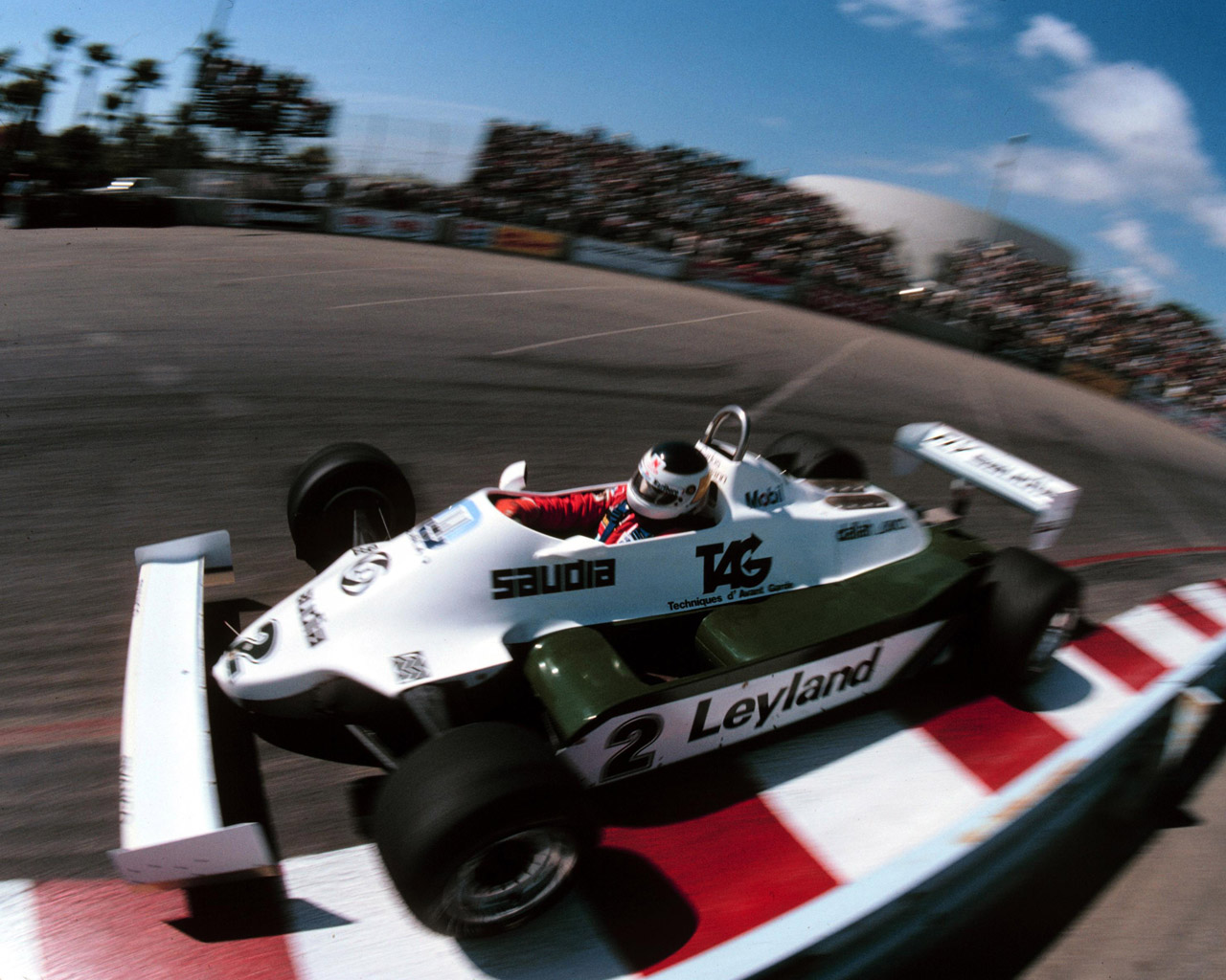 Carlos Reutemann (Williams Ford) USA GP f1 1981