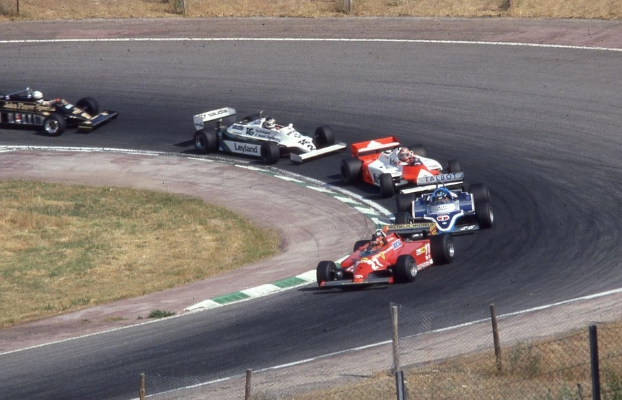 gilles villeneuve spanish gp f1 1981