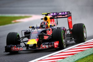 Red Bull je briljirao po kiši, ali treba očekivati njihov pad u poretku na suhoj stazi kada će bolidi s jačim motorima moći 'protegnuti noge'. (25.9.2015.) Foto: Red Bull