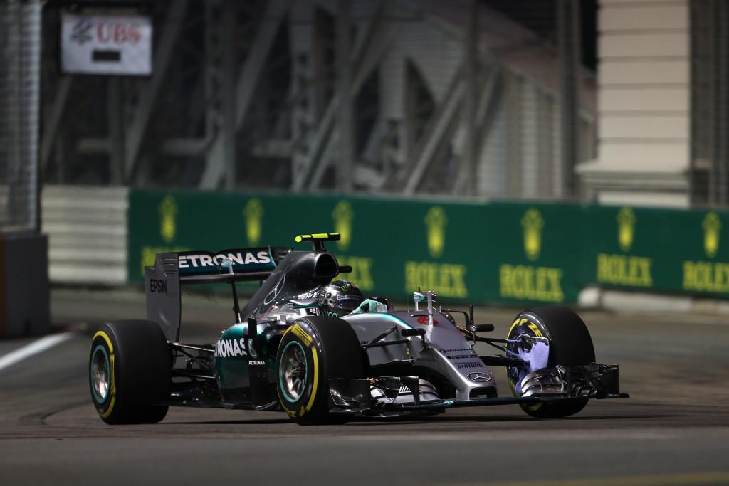 Nico Rosberg, VN Singapura (18.9.2015.) Foto: Mercedes