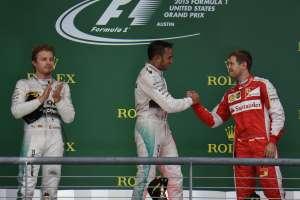 Hamilton je u Austinu prošle godine proslavio treći naslov prvaka dok se Rosberg ljutio zbog propuštene prilike