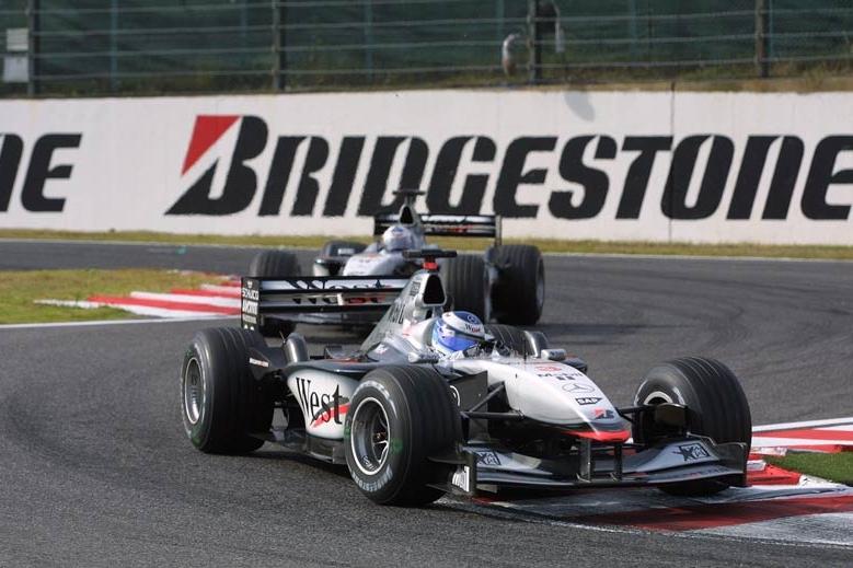 Mika Hakkinen i David Coulthard, McLaren MP4-16