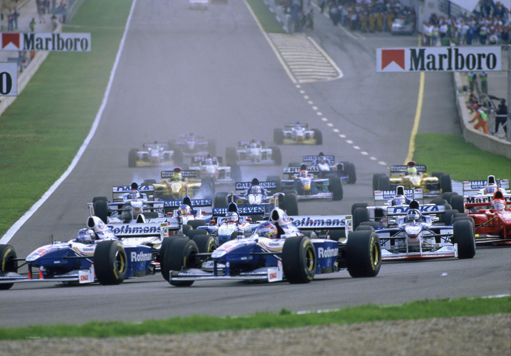 1997 European Grand Prix start