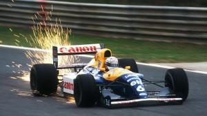 Nigel Mansell prvenstvo 1991. završio je u pijesku prvoga zavoja, kao i Senna i Prost 1990., doduše u posve drugim okolnostima