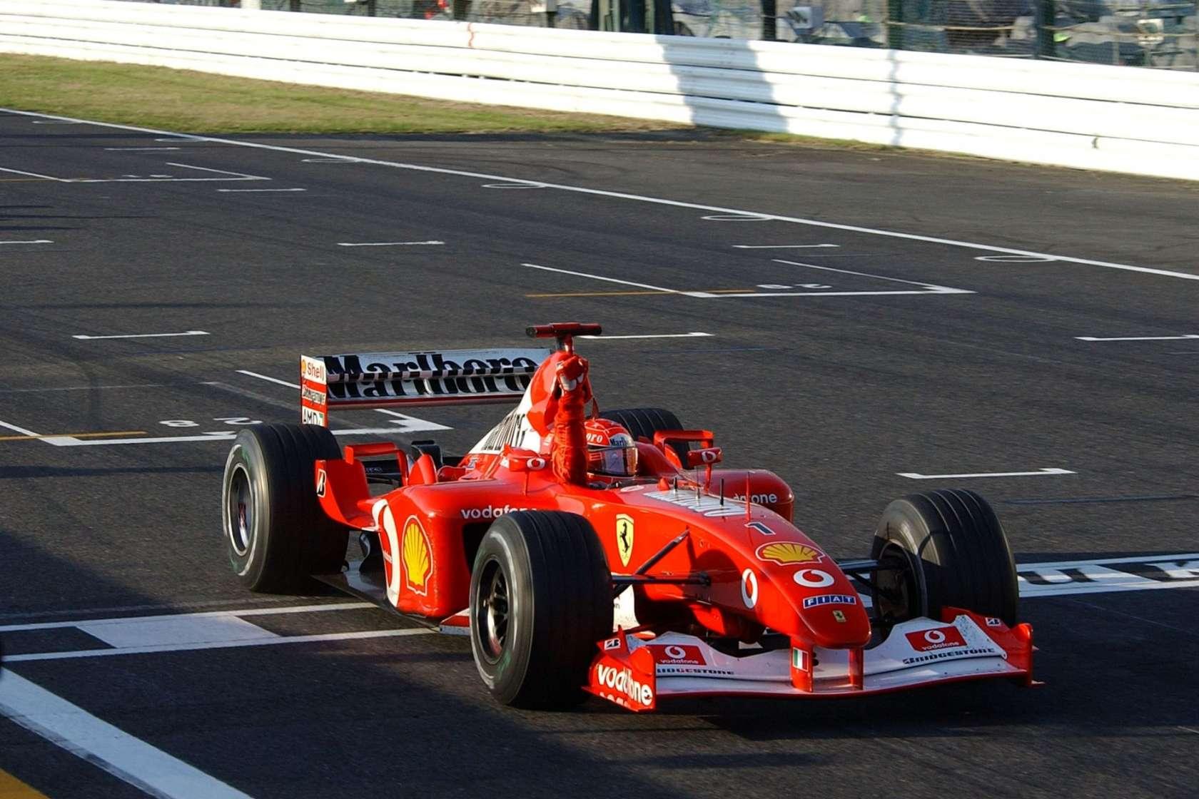michael schumacher japanese gp f1 2002 suzuka win