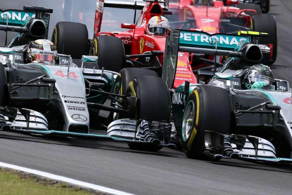 Start utrke bio je trenutak u kojem je Hamilton bio najbliže Rosbergu