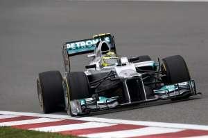Nico Rosberg na putu prema prvoj pobjedi u karijeri i prvoj pobjedi za Mercedes od 11.9.1955. kada je Juan Manuel Fangio slavio u Monzi (15.4.2012.) Foto: hoch-zwei.net