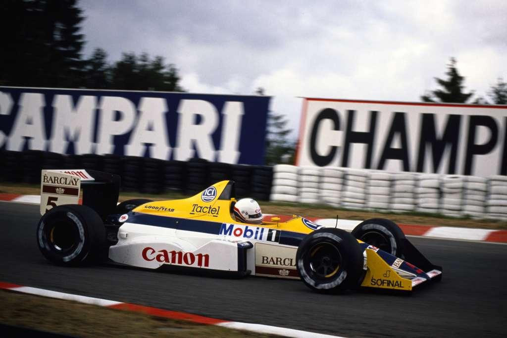 Martin Brundle mijenja bolesnog Nigela Mansella u Belgiji gdje je završio sedmi u Williamsu FW12 (26.8.1988.) Foto: hdwallpapers