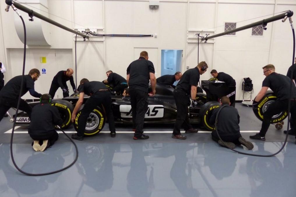 haas-f1-practice-car-banbury-england