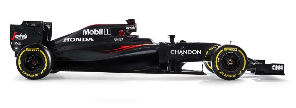 2016 McLaren Honda MP4-31 Side 2 no sponsor