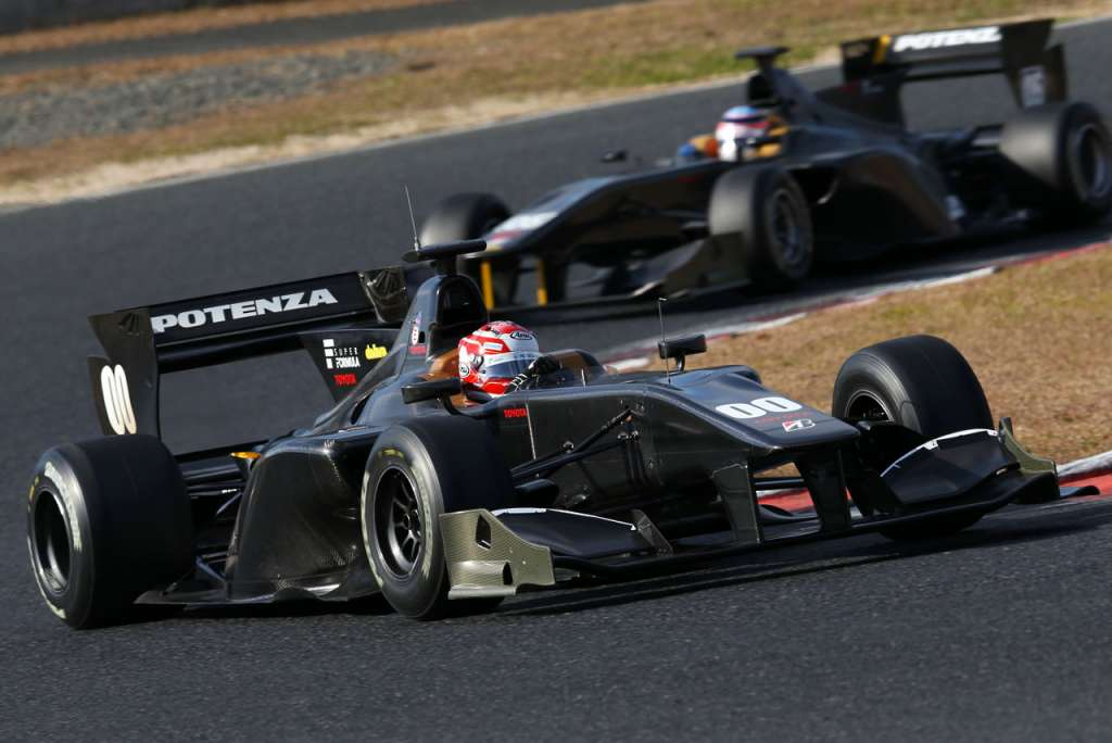 super formula pre season test 2015