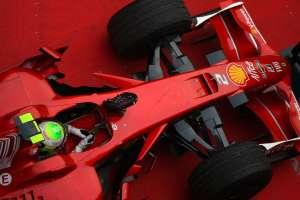 Prekrasni Ferrari F2008 s kanalom u nosu koji je sličan današnjim S-duct sustavima