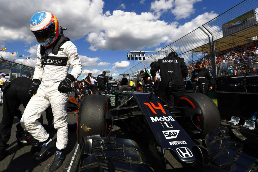 Fernando Alonso on Australian GP 2016 grid
