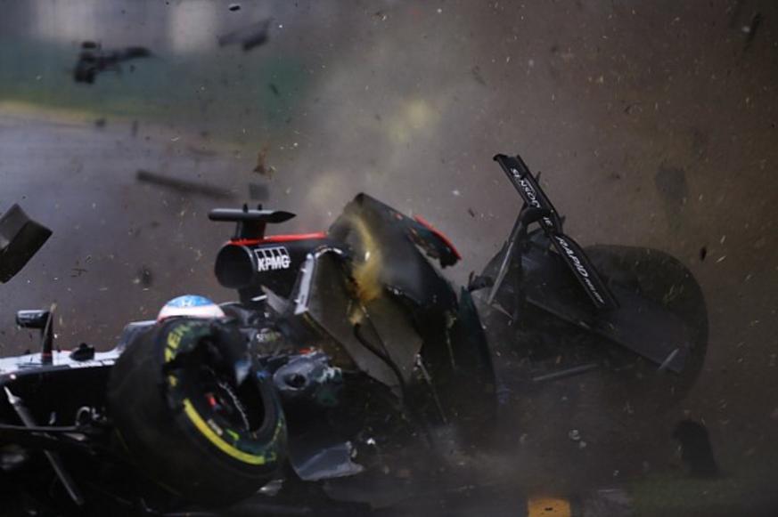 Alonso je srećom prošao neozlijeđen