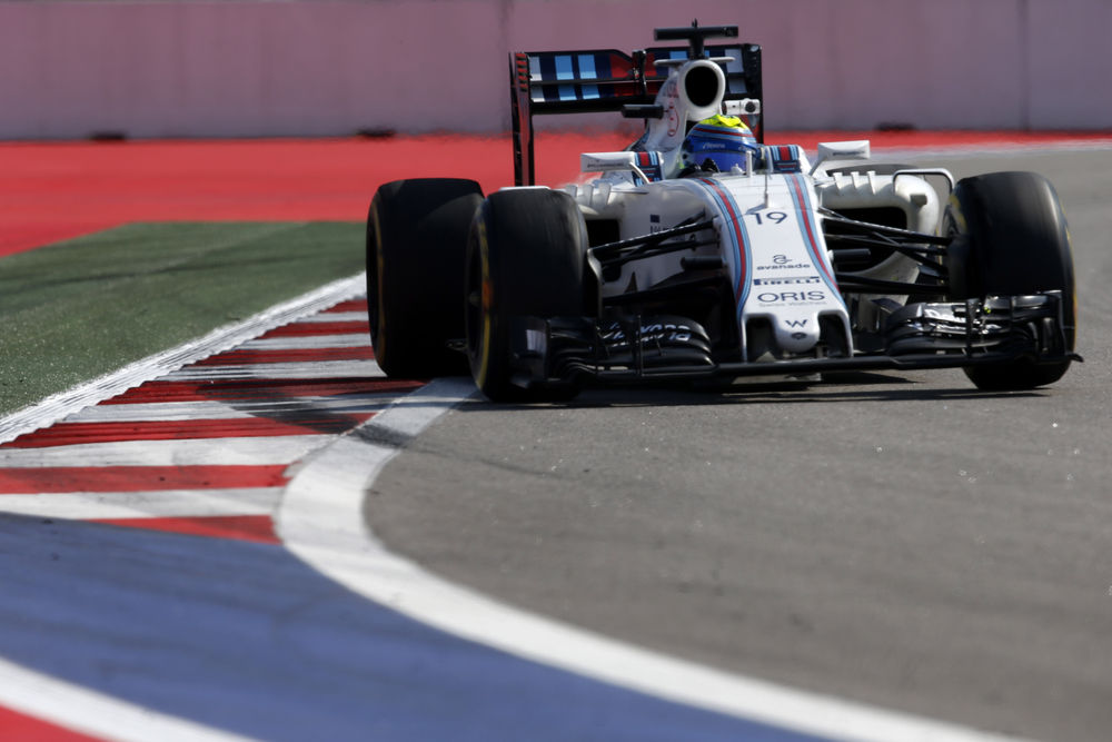 Felipe Massa Williams Mercedes FW38 Russia GP Sochi F1 2016 Foto Williams