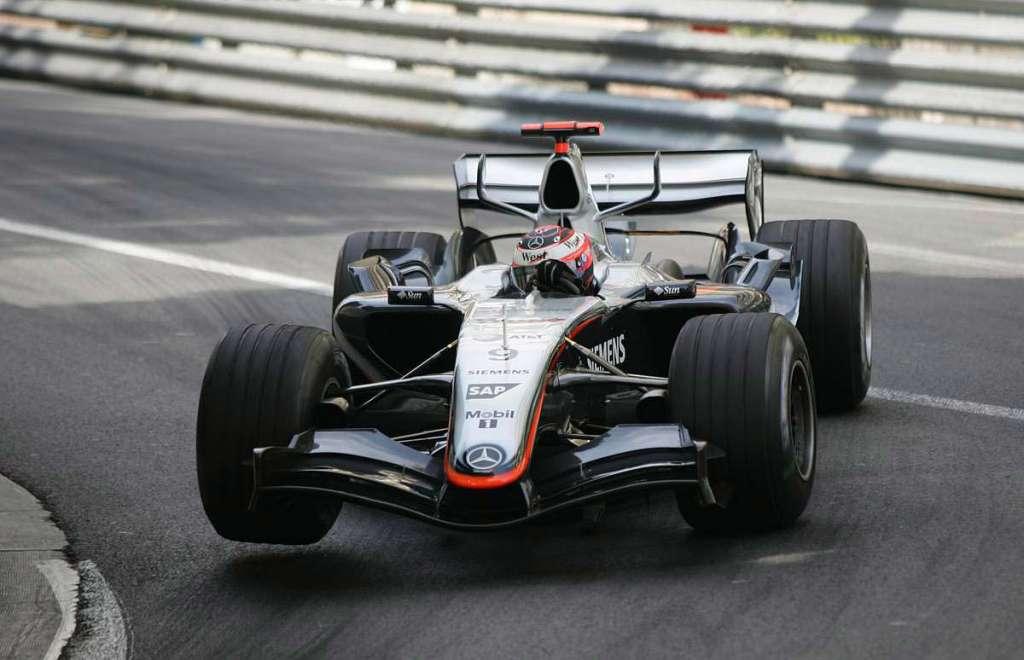 Kimi Raikkonen McLaren Mercedes MP4-20 Monaco GP F1 2005