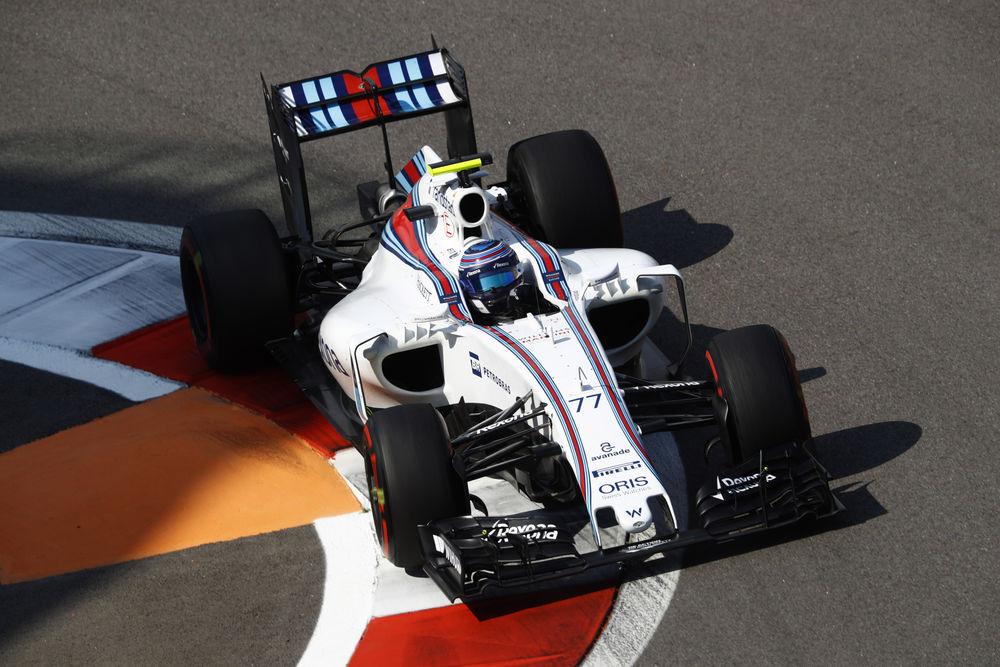 Valtteri Bottas Williams Mercedes FW38 Russia GP Sochi F1 2016 Foto Williams