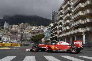 Sebastian Vettel Ferrari SF16-H Monaco GP tunel chicane F1 2016 Foto Ferrari