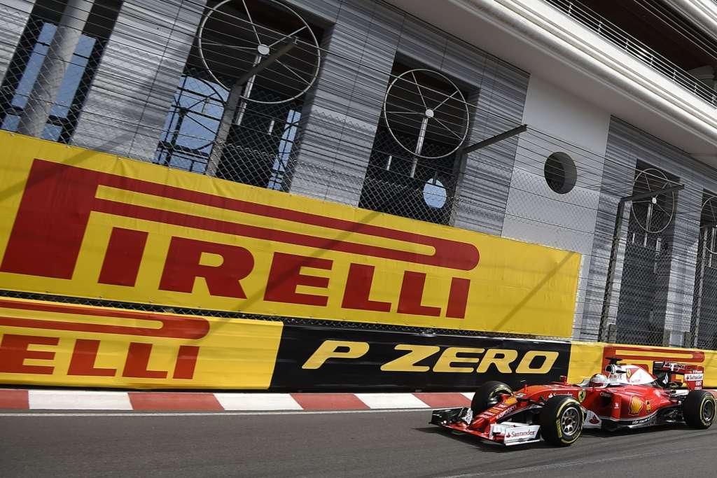 Sebastian Vettel Ferrari SF16-H Monaco GP tunel exit F1 2016 Foto Pirelli