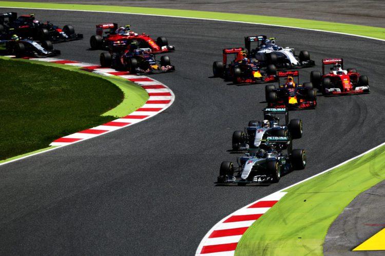 Start of the Spanish GP F1 2016 Foto Red Bull