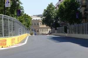 Baku City Circuit 2 Foto Auto Motor und Sport