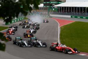 Start of the Canadian GP F1 2016 Foto Mercedes