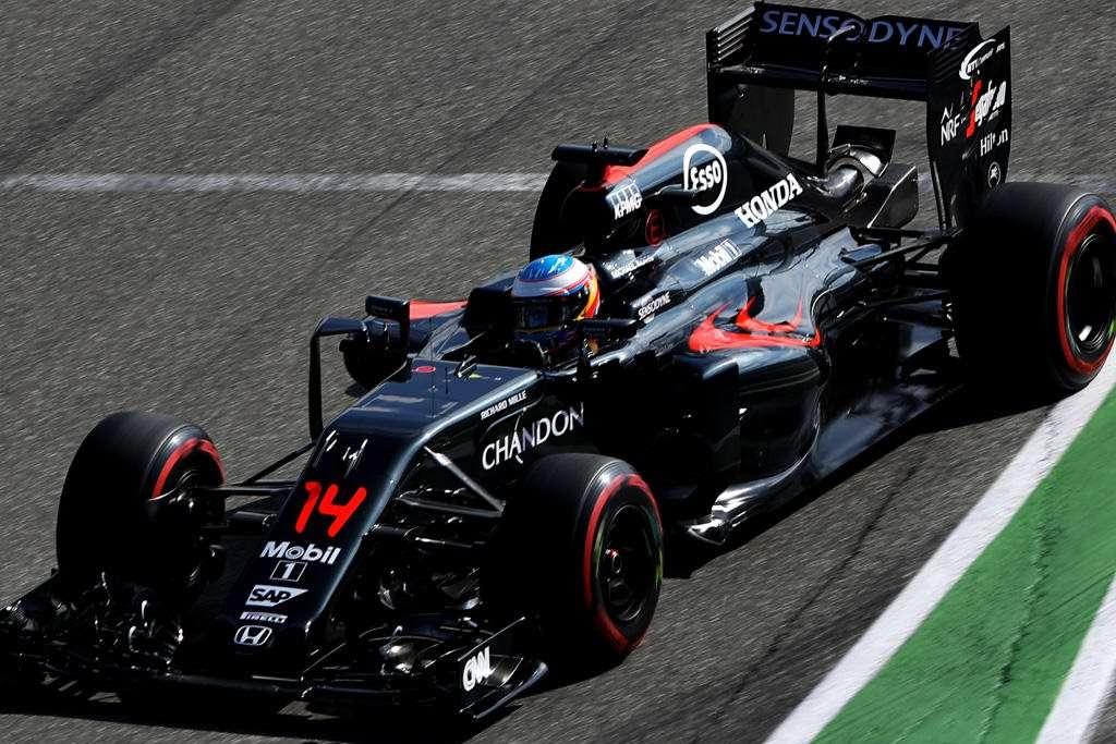 Fernando Alonso McLaren Honda MP4-31 German GP F1 2016 Foto SKY Sports F1