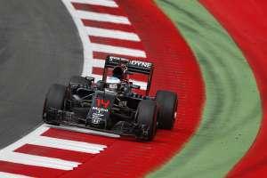 Fernando Alonso McLaren Honda MP4-31 final corner Austrian GP F1 2016 Foto McLaren
