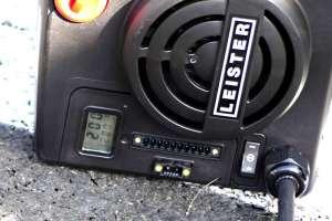 Na ovom grijaču jasno se vidi zadana i postignuta temperatura - 200 Celzijevih stupnjeva
