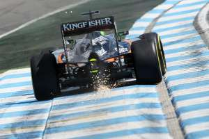 Nico Hulkenberg Force India VJM09 Mercedes German GP F1 2016 Foto Force India