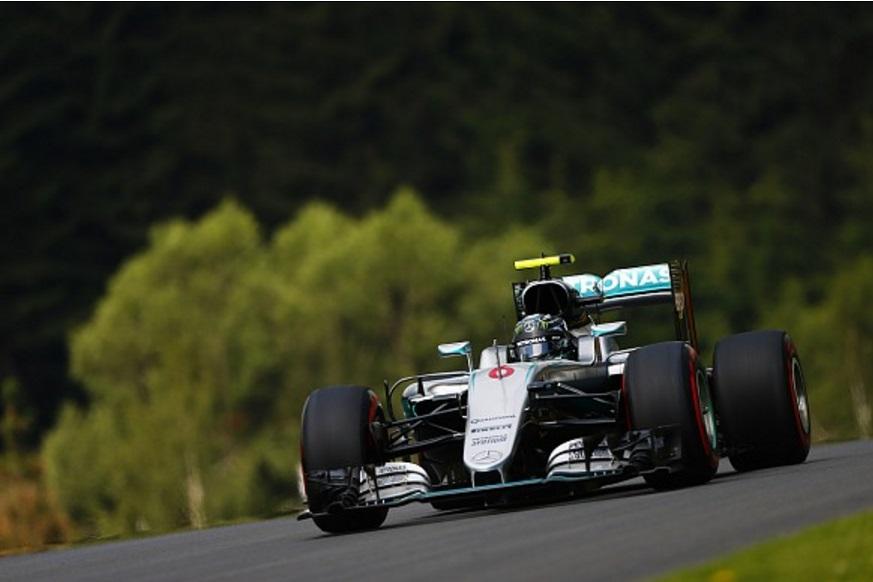 Nico Rosberg Mercedes W07 Hybrid Austrian GP F1 2016 Foto Daimler